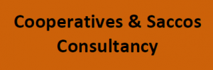 cooperatives and saccos consultancy